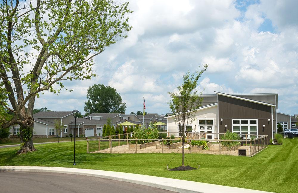 Burr Oak Commons Community Garden