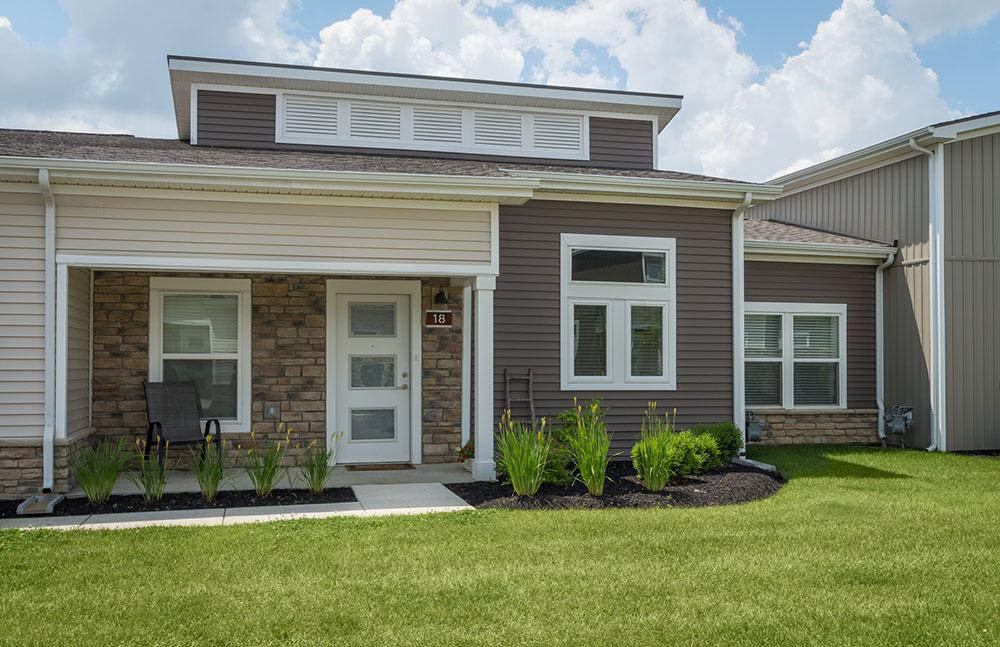 Burr Oak Commons Front Door