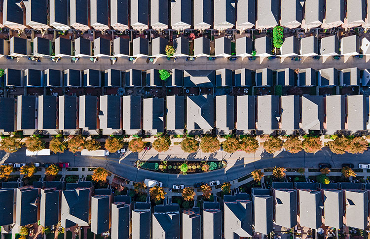 Harrison Park West Top View