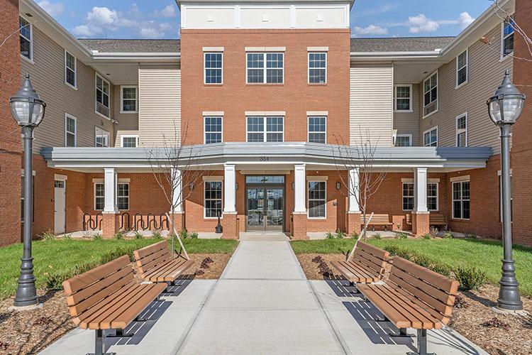 Parsons Place Building Front View 3