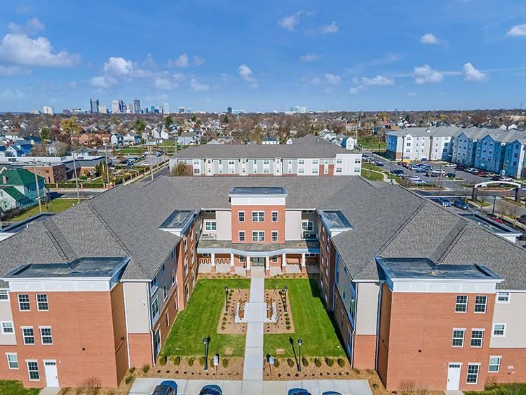Parsons Place Building Front View