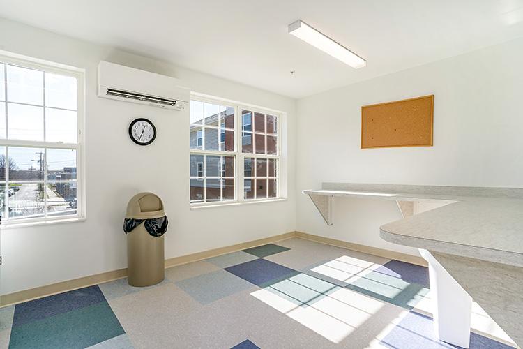 Parsons Place Laundry Room Corner