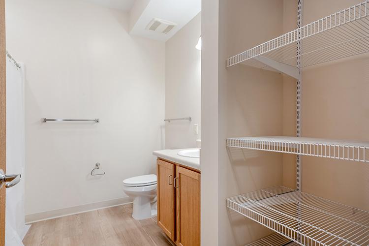 Parsons Place Unit Bathroom Corner