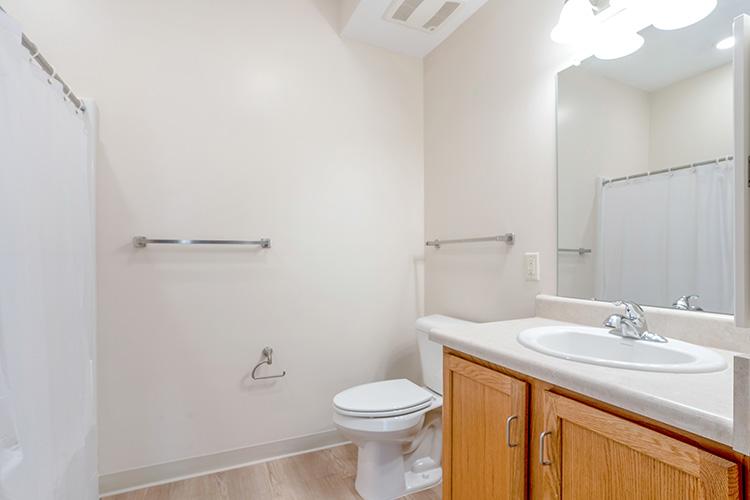 Parsons Place Unit Bathroom