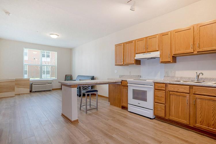 Parsons Place Unit and Kitchen