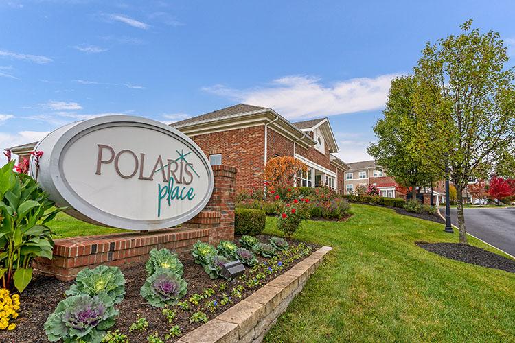 Polaris Place Apartments Entrance Sign