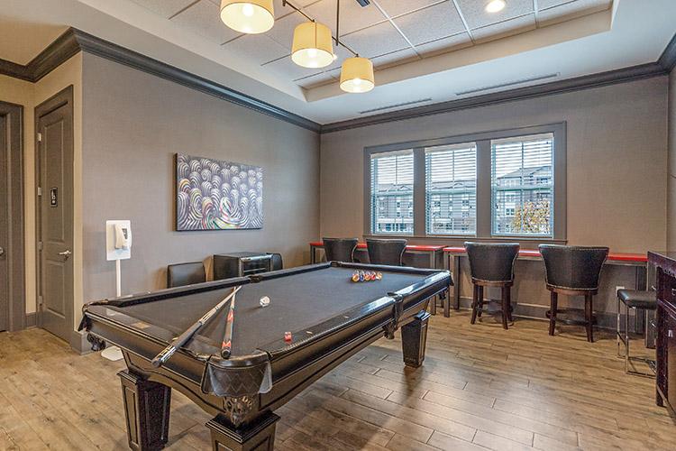 Polaris Place Apartments Game Room 2