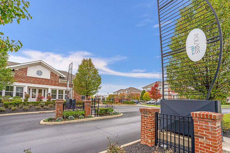 Polaris Place Apartments Gated Entrance