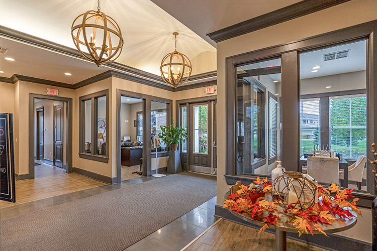 Polaris Place Apartments Lobby Entrance