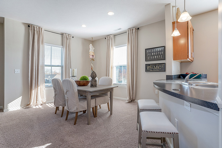 Polaris Place Apartments Unit Dining Room