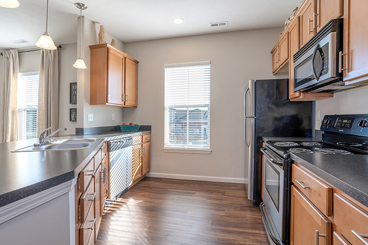 Polaris Place Apartments Unit Kitchen 2