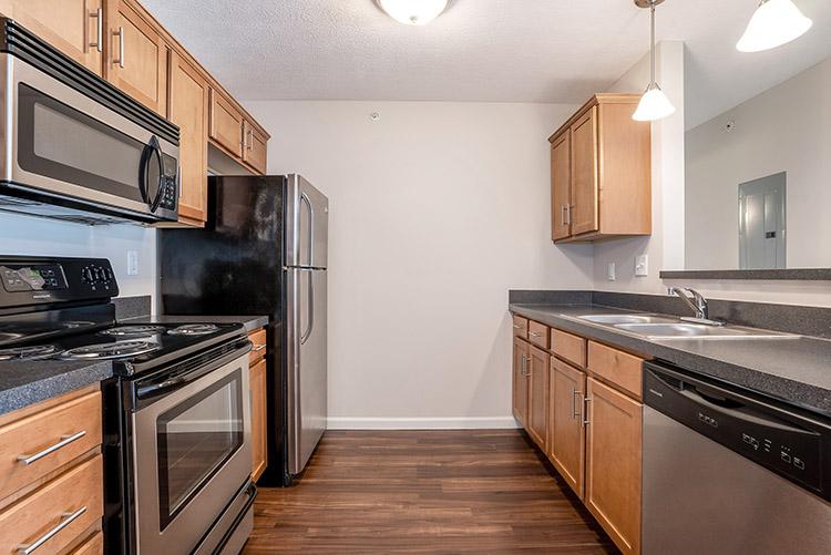 Polaris Place Apartments Unit Kitchen 7