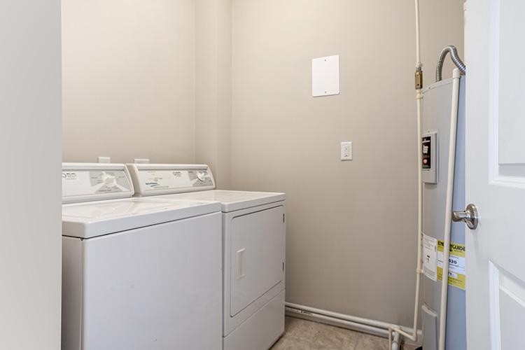 Polaris Place Apartments Unit Laundry