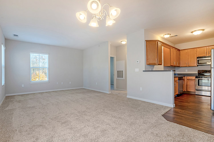 Polaris Place Apartments Unit Living Room 3