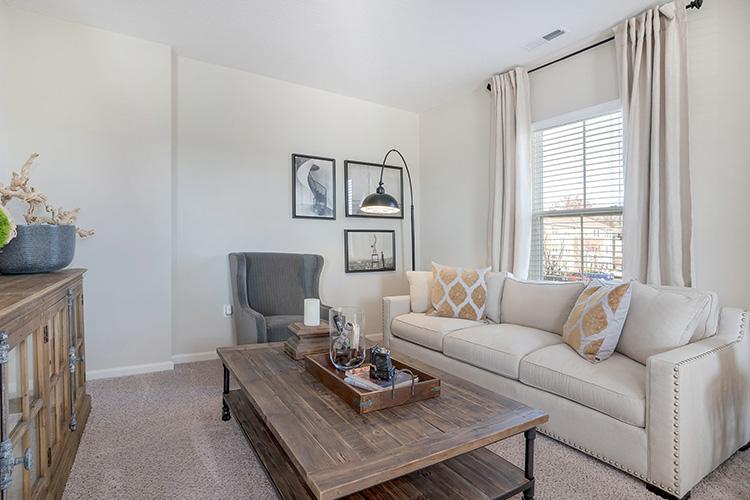 Polaris Place Apartments Unit Living Room 8