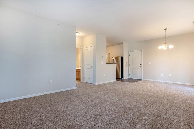 Polaris Place Apartments Unit Living Room