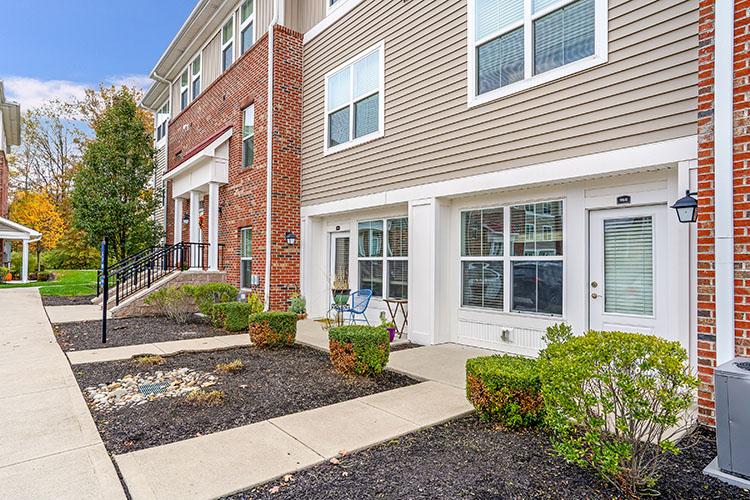 Polaris Place Apartments Unit Patios