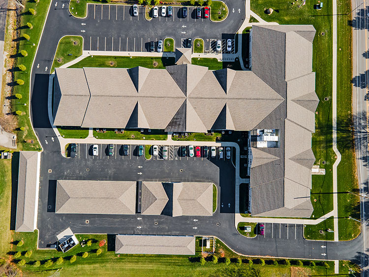 Spring Leaf Place Apartments Top View