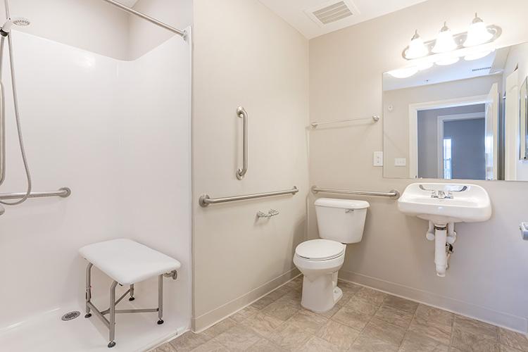 Spring Leaf Place Apartments Unit Bathroom 3