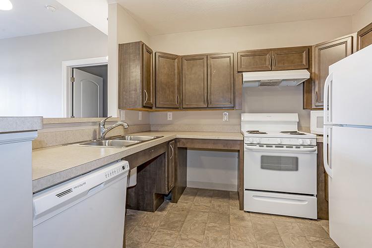 Spring Leaf Place Apartments Unit Kitchen 3