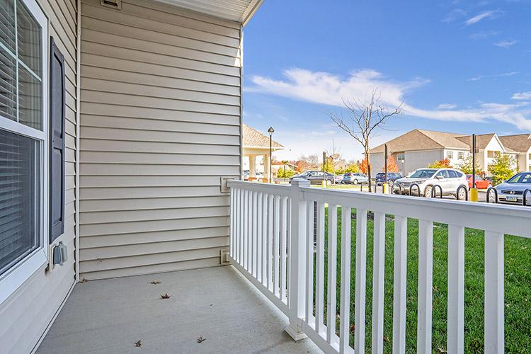 Spring Leaf Place Apartments Unit Patio