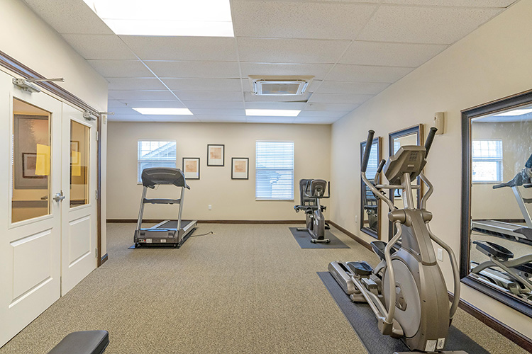 Springwood Luxury Apartments Gym