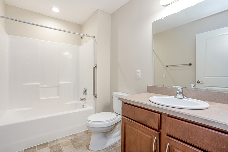 Springwood Luxury Apartments Unit Bathroom