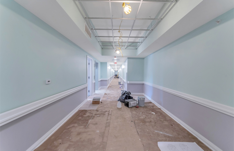 Hamilton Annex Hallway