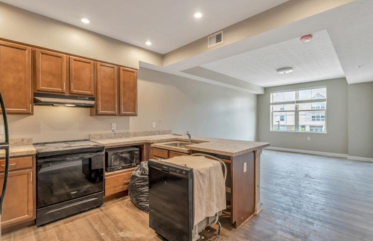 Hamilton Annex Unit Kitchen